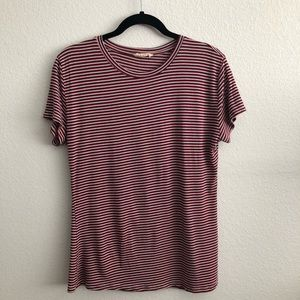 Zara Casual Striped T-Shirt